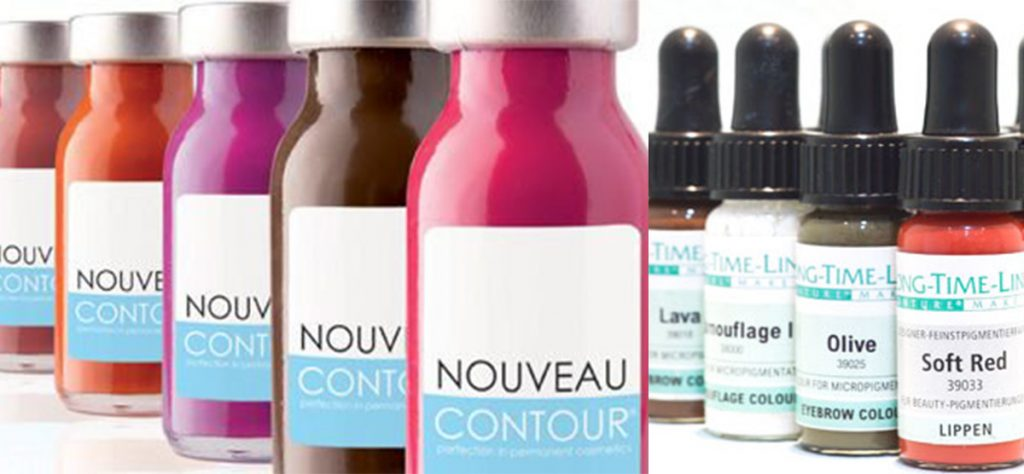 PMU ink Pigments for Cosmetic Tattooing Ingredients