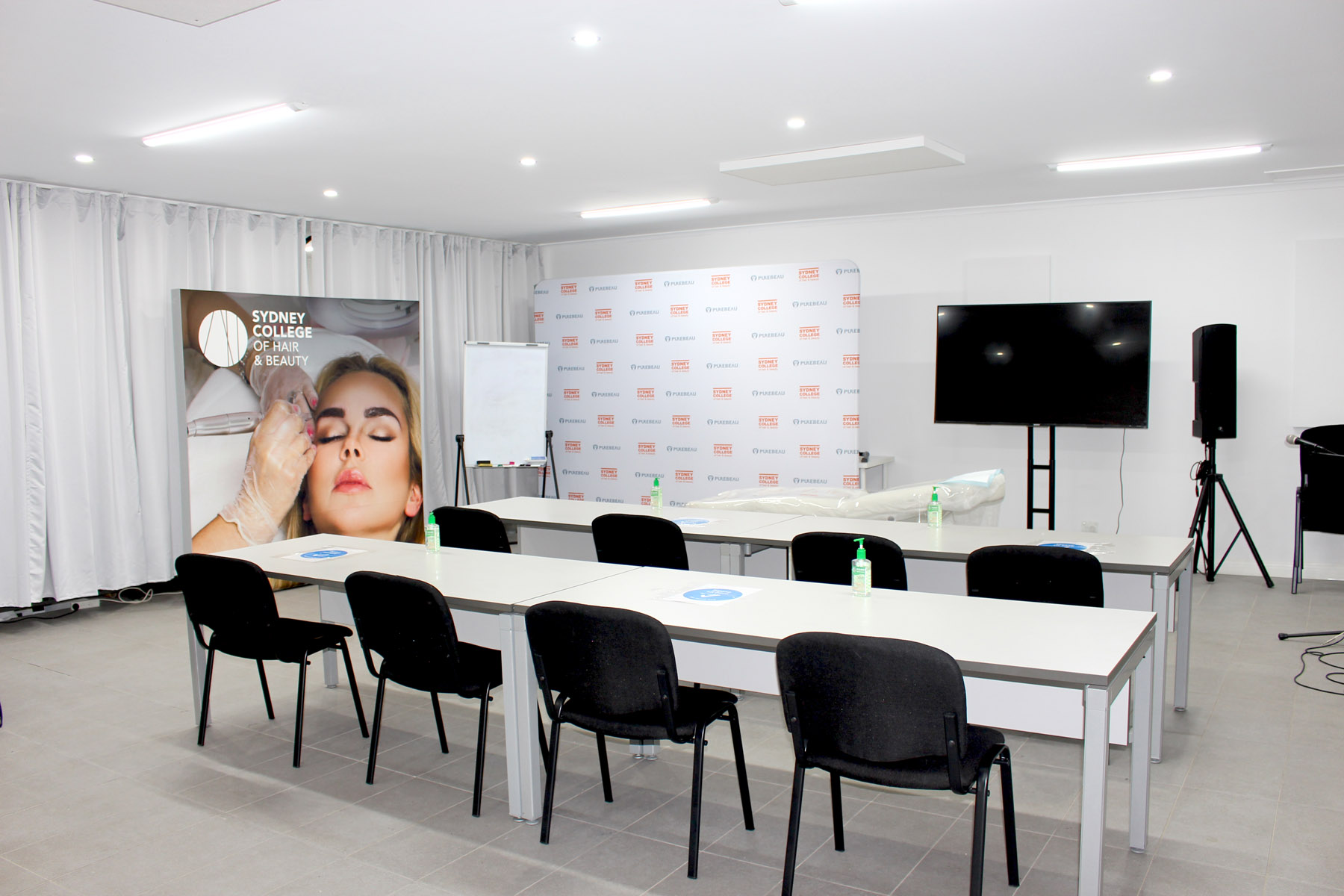 beauty training space